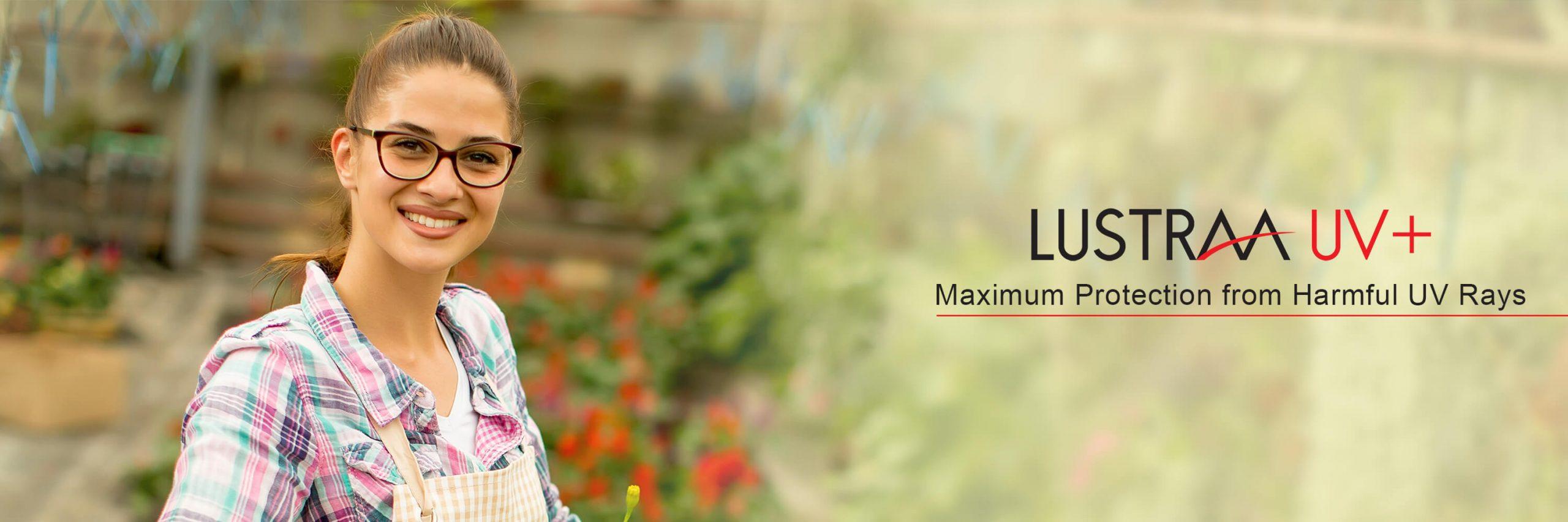 LUSTRAA UV+ Maximum Protection from Harmful UV Rays