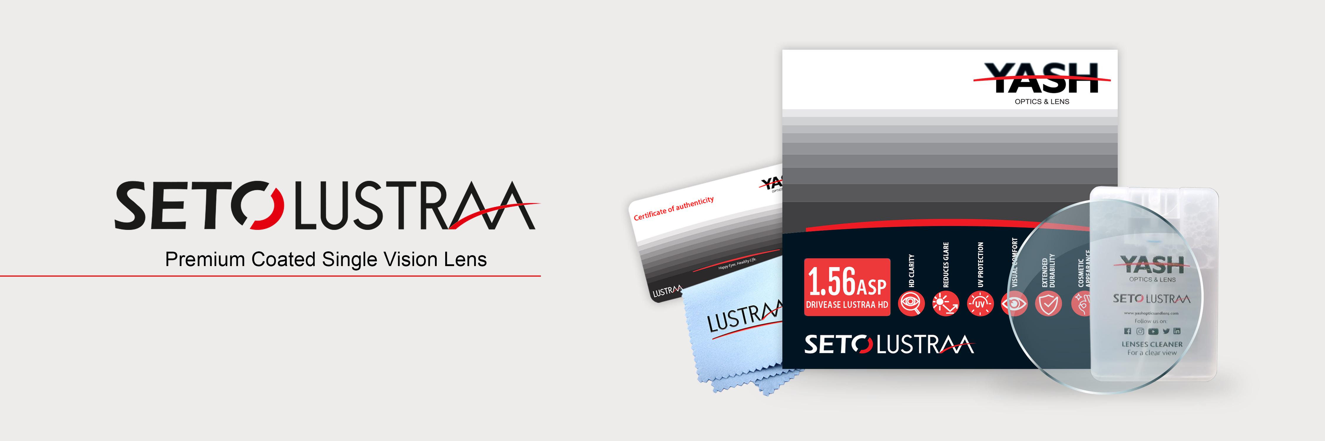 Seto Lustraa Single Vision Lenses