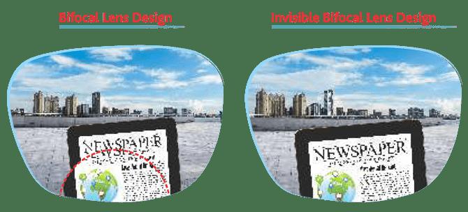 invisible bifocal